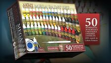 The Army Painter - Mega Paint Set - 50 Paints - Factory Sealed - Free Shipping