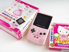 Hello Kitty Nintendo GAME BOY COLOR Pink CONSOLE JAPAN Sanrio Special Box 2nd