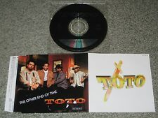 TOTO Japan PROMO ONLY 1 trk CD single PICTURE SLEEVE Steve Lukather Jeff Porcaro