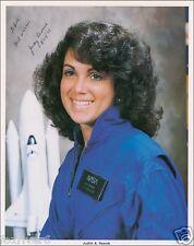 JUDITH RESNIK Signed Photograph NASA Astronaut Space Shuttle Challenger preprint
