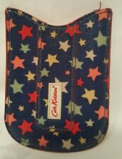 Cath Kidston Universal Phone Pouch - Blue with star pattern