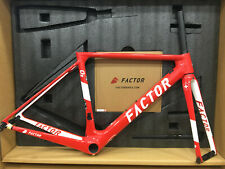 Factor O2 Swiss Champion Limited Edition 46cm Road Rim Brake Frameset (Red)