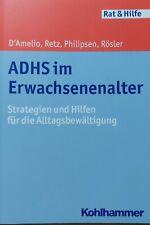 ADHS im Erwachsenenalter von Roberto D´Amelio (Taschenbuch)