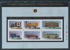 Historic Public Service Vehicles 2 #1527 Souvenir Sheet MNH ** Free Shipping **