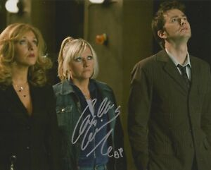 Camille Coduri Doctor Who hand signed photo with COA UACC & AFTAL authentic