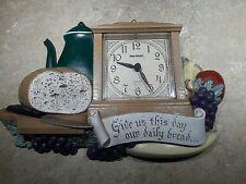 Vintage 1985 Burwood kitchen clock - Quartz Prayer