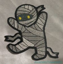 Embroidered Adorable Baby Mummy Kid Monster Horror Patch Iron On Sew On USA