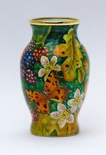 ELLIOT HALL ENAMELS - Black Berries & Butterfly 1/1 Limited Edition By M.Graves