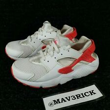 Nike Air Huarache Run (Little Kids Size 2Y) Athletic Sneaker Shoes White Red