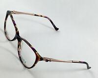 New TURA R562 Purple Women's Eyeglasses Frames 52-16-135