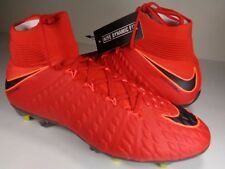 Nike Hypervenom Phantom 3 DF SG PRO AC University Red Soccer SZ 9.5 (899982-616)