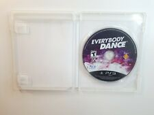 Everybody Dance (Sony PlayStation 3, 2011) PS3 - FAST FREE SHIPPING