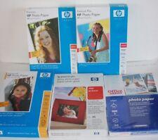 4x6 Photo Paper HP & Office Depot Inkjet Glossy & High Gloss 355 Sheets Sealed