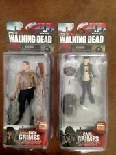 The Walking Dead Walgreens Exclusive Rick Grimes and Carl Grimes Series Four New
