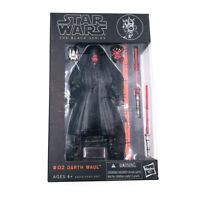 #02 Darth Maul Star Wars Action Figure NO BOX The Black Series Hasbro Limited