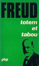 FREUD TOTEM ET TABOU + PARIS POSTER GUIDE