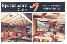 Sportsman's Cafe , Vancouver , B.C. , Canada , 40-60s