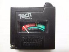 Tech America AAA/AA/C/D/1.5V/9V Button Cell Battery Volt Tester BATTERY TESTER