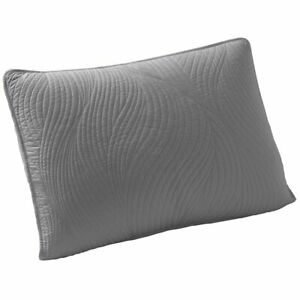 Brielle Stream King Size Pillow Sham Set in Grey / NEW SHIPS FREE