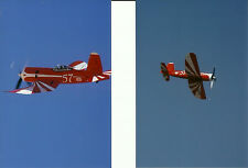 Set of 2 - AIR RACING AIRPLANES COLOR #57 4X6 PHOTOGRAPHS - Prints