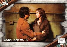 Walking Dead Season 6 BASE Trading Card #78 / CAN'T ANYONE
