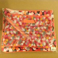 NWT Vera Bradley Beach Pouch Set in Pixie Confetti Cosmetics Case 14809 208 BE
