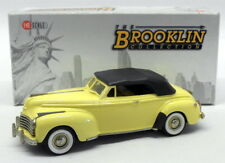 Brooklin 1/43 Scale BRK85  - 1941 Chrysler New Yorker Convertible Yellow/Black