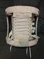 Vintage White 8115 Camp Boned Corset Girdle Sz 38 - Union Made Usa - Medium
