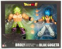 SDCC 2019 Dragon Ball Z Super Stars - Broly vs Blue Gogeta Action Figure Set DBZ