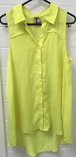T By Bettina Liano Size 8 Button Front Shirt Blouse Top EUC Business Casual