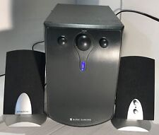 Altec Lansing 3 Pic 40W BX3 Computer Speaker System Sub-Woofer & Speakers MAC HP