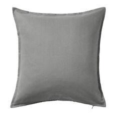 IKEA gurli coussins/COUVERTURE DE Taie d'Oreiller Coussin pour tête gris coton