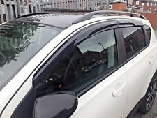 NISSAN QASHQAI WIND DEFLECTORS & RAIN  SMOKE - 2007 - 2013 BRAND NEW 4 PIECE