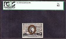 US 50c Fractional Currency Note 2nd Issue FR 1318 PCGS 62 CU
