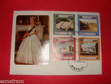 Queen Elizabeth II Silver Jubilee FDC 25 Coronation Sweden 1978 #2