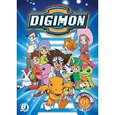 Digimon . Digital Monsters . The Official First Season 1 . 8 DVD . NEU