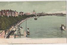Thames Embankment, London, F.G.O. Stuart 884 Postcard #2 B808