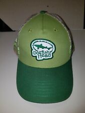 Dogfish Head Craft Brewed Ales truckers Hat Cap NEW Mesh Snap Back