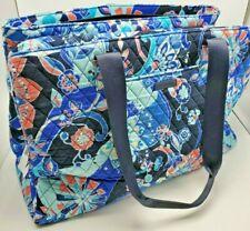 Vera Bradley Triple Compartment Travel Bag Lotus Flower Swirl New