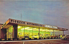 Watertown CT Pioneer VW Automobiles Auto Dealership Postcard
