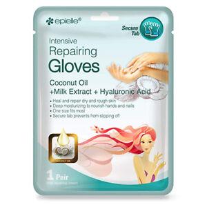 2 Pair Moisturizing Gloves Hands Spa Therapeutic Skin Women Vera Moisturizing !!
