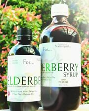 ORGANIC ELDERBERRY SYRUP  - Qualified Naturopath & Herbalist