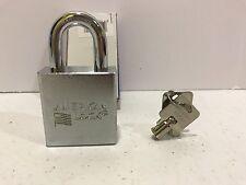 American Lock A7260KA Rekeyable Padlock Solid Steel Tubular Cylinder