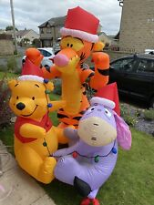 More details for gemmy airblown disney winnie the pooh 6ft xmas christmas inflatable outdoor rare