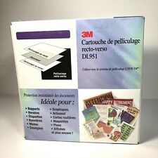 3M DL951 Front And Back Laminating Cartridge For 3M Laminating System LS950