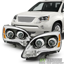 2007-2012 GMC Acadia Projector Headlights Headlamps Replacement Left+Right Set