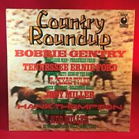 VARIOUS Country Roundup UK Vinyl LP EXCELLENT CONDITION Hank Thompson  A