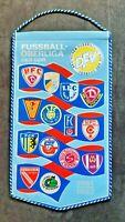 Orig. Wimpel DDR Oberliga 1981/82 Fußball Jahreswimpel Dynamo Dresden FCM Hansa