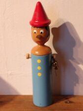 Mastro Geppetto Handmade Wooden Pinocchio  Money Box