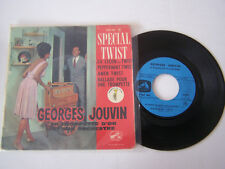 EP 4 TITRES VINYLE 45 T , GEORGES JOUVIN , LA LECON DE TWIST . VG - / VG .